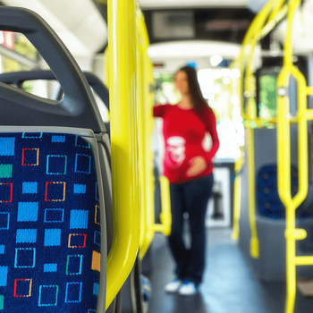 Your Calgary Commute: Drive and Transit Times from New Neighbourhoods Transit Bus Image