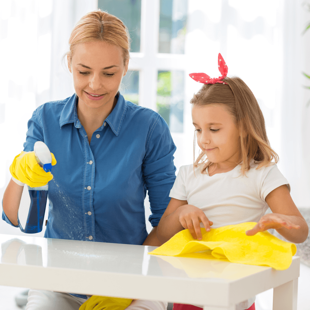 ultimate-home-cleaning-schedule-busy-families-mother-daughter-cleaning.png