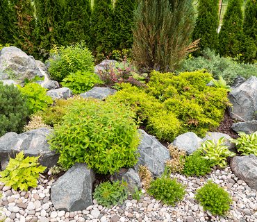 5 Steps to a Healthier Lawn Rock Garden image
