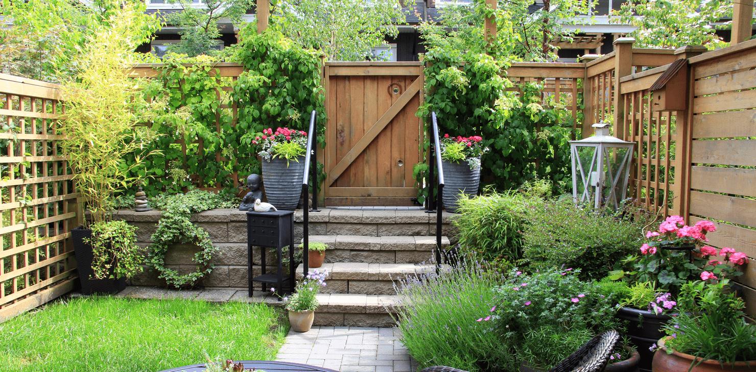 13 Ways to Beautify Your Backyard Patio Garden image