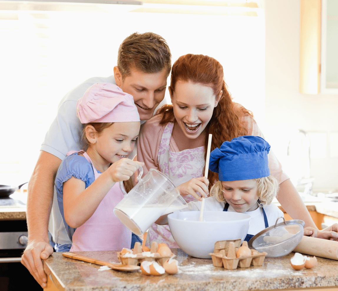 14 At-Home Activities to Spend Time With Your Kids Cooking image