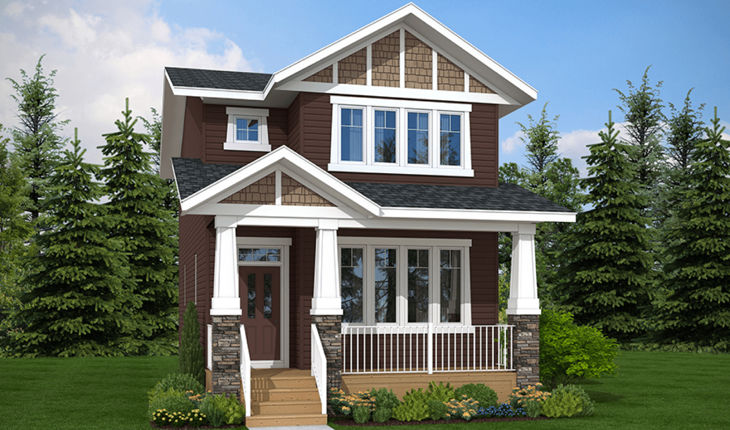 Brand New Show Home Opening in Cochrane! Leyton Craftsman Model image