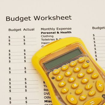 10 Secrets to Sticking to Your Budget Worksheet Image