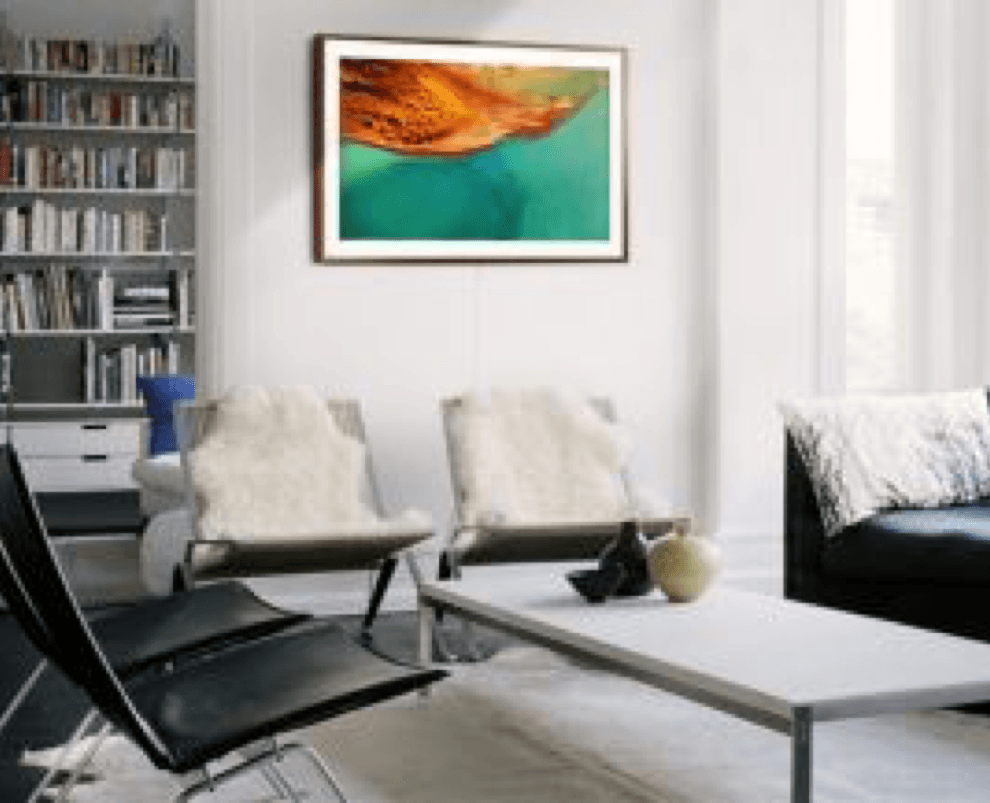 Interesting Ways to Decorate Around Your Television Artwork Image