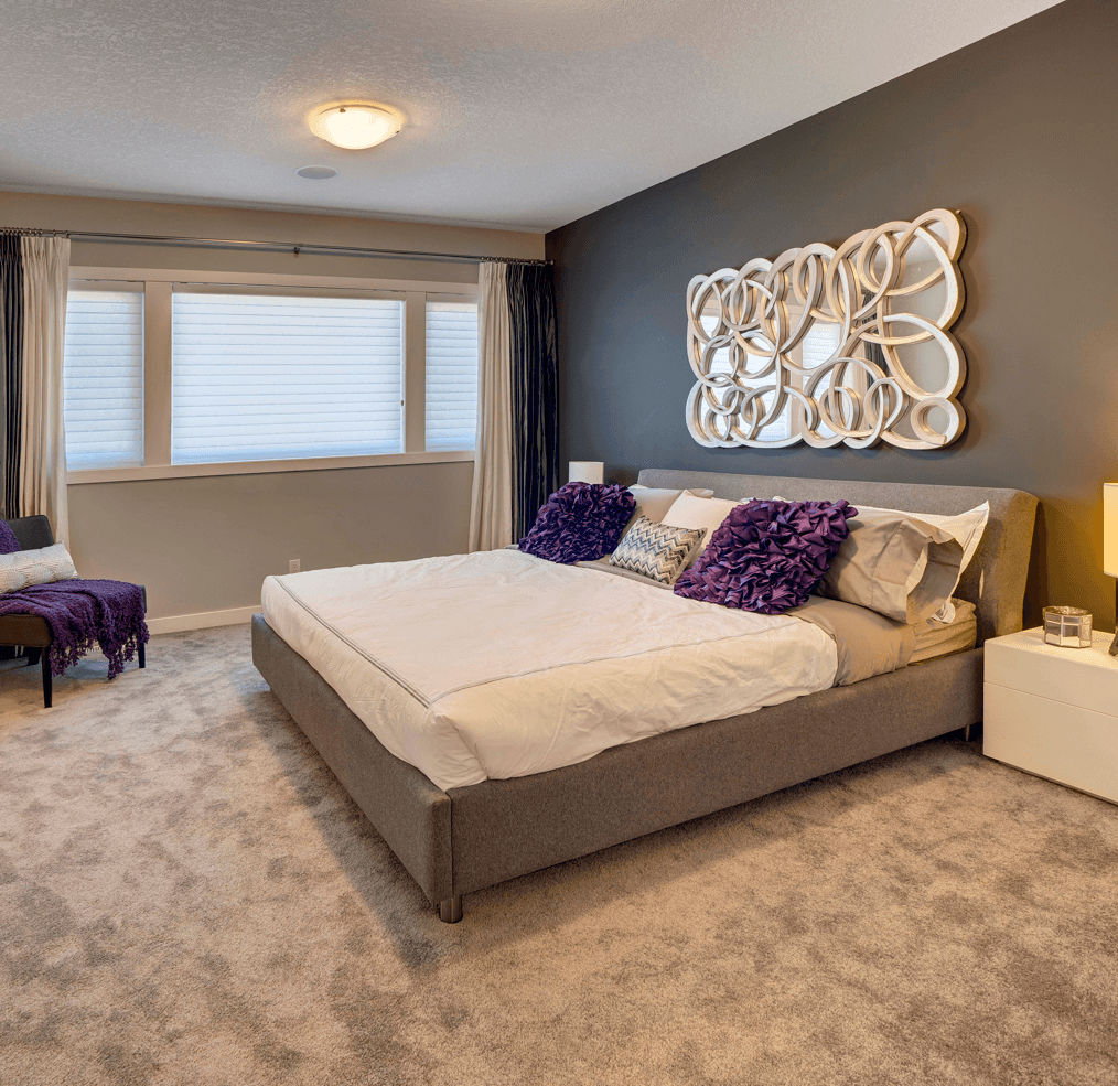 Room by Room Colour Scheme Trends Purple Bedroom Image