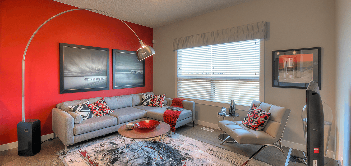 Room by Room Colour Scheme Trends Livingroom Red Featured Image