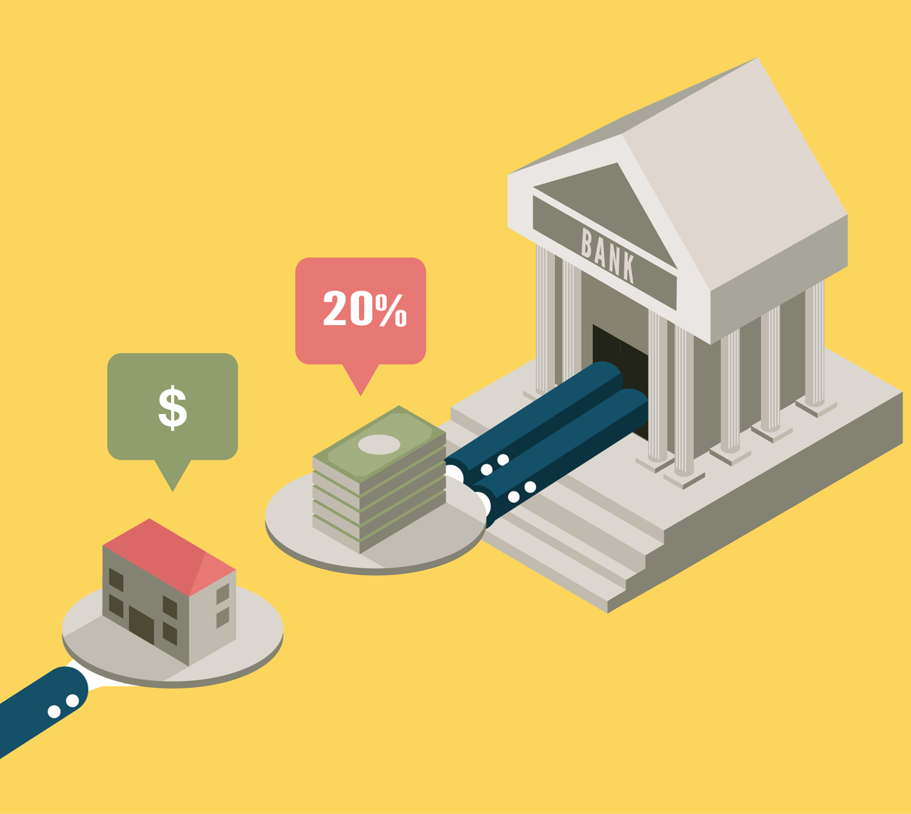The Benefits of Letting Your Builder Lead You to a Lender Bank Image