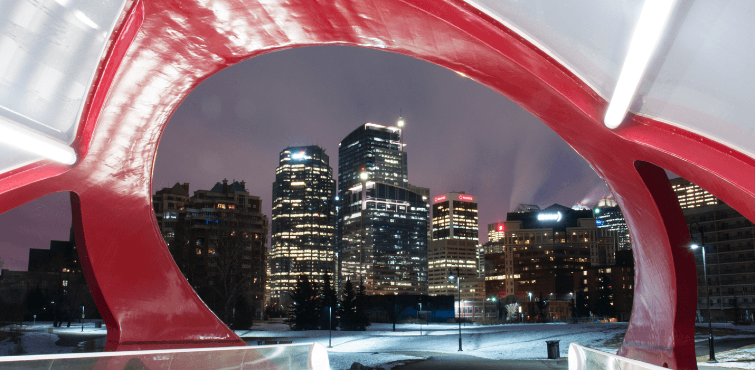 10 Reasons to Love Winters in Calgary Bridge Featured Image