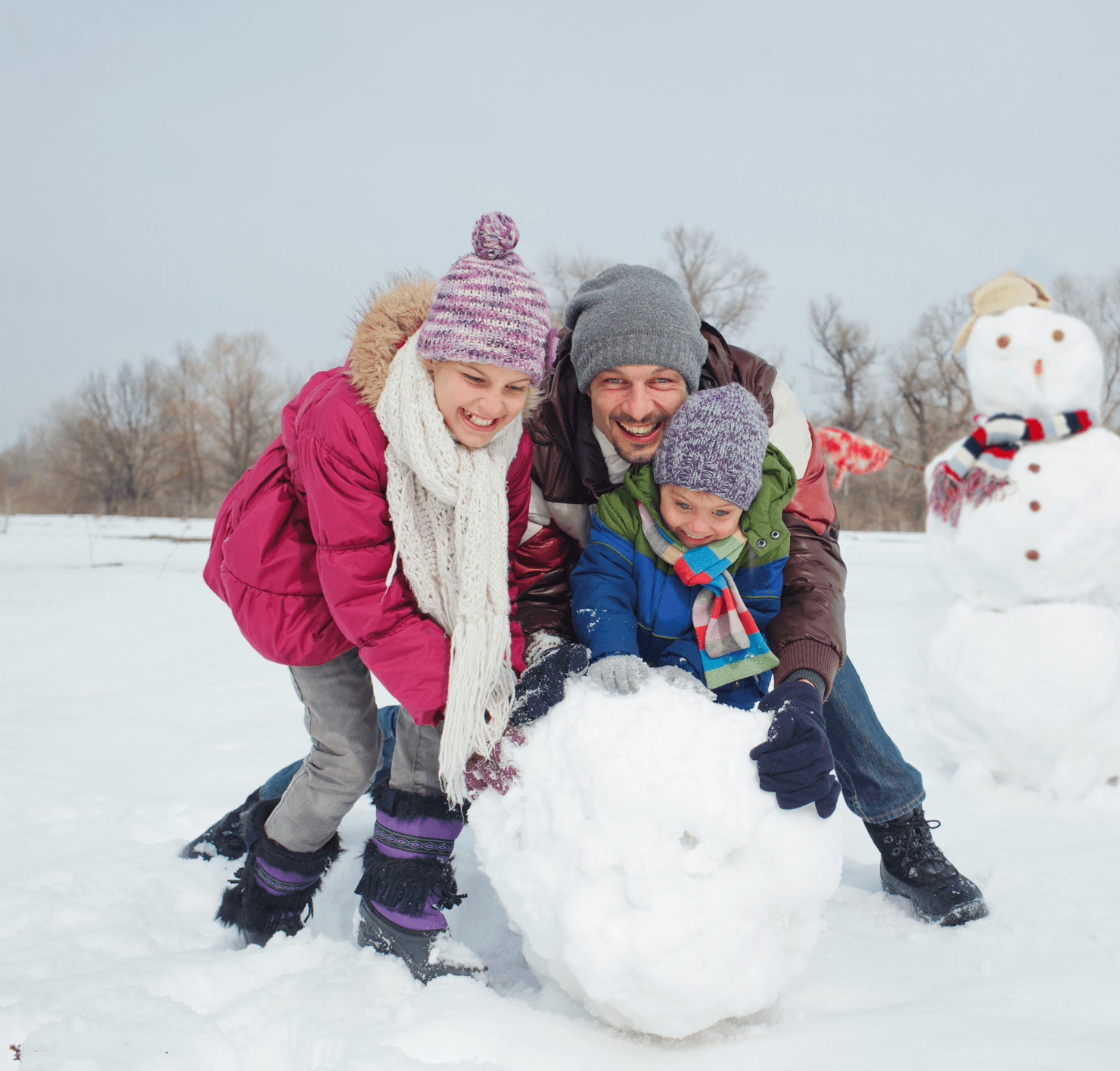 10 Reasons to Love Winters in Calgary Family Image