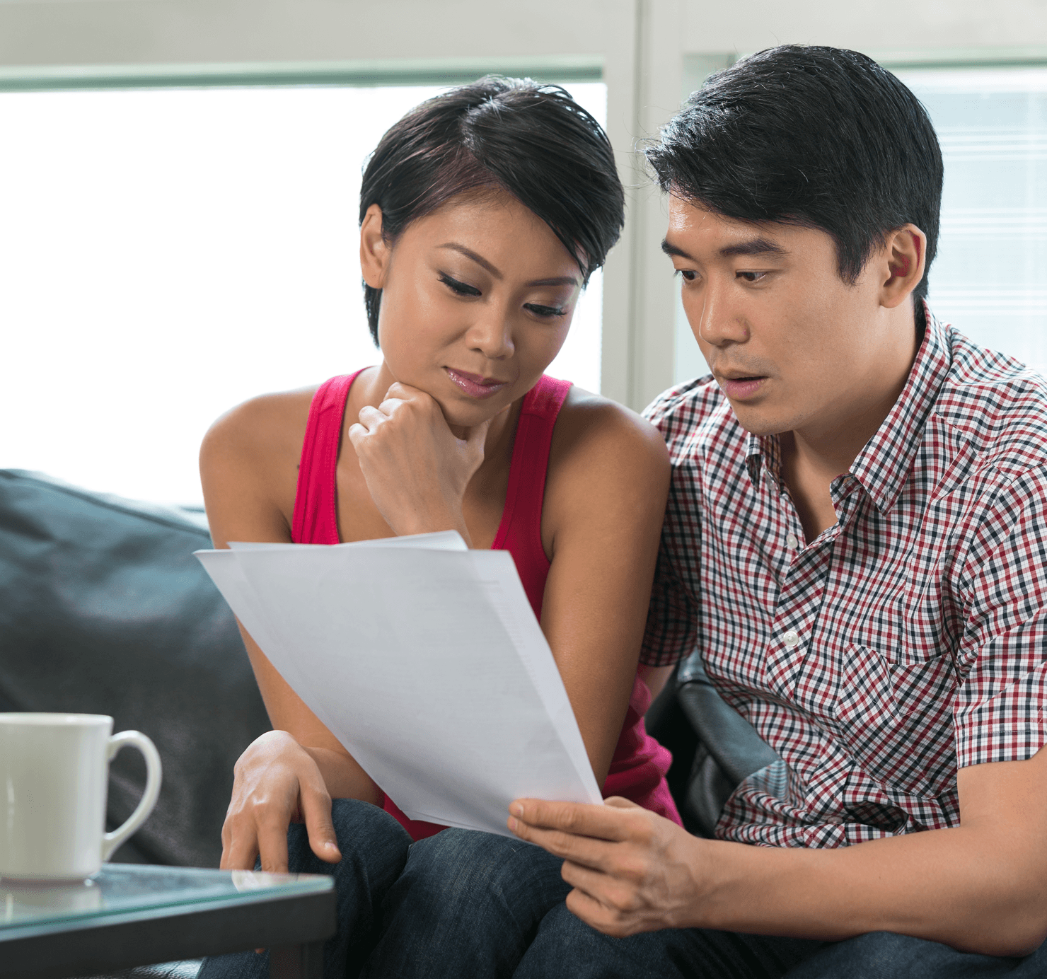 Mortgage SOS Understanding A Credit Report Couple Image
