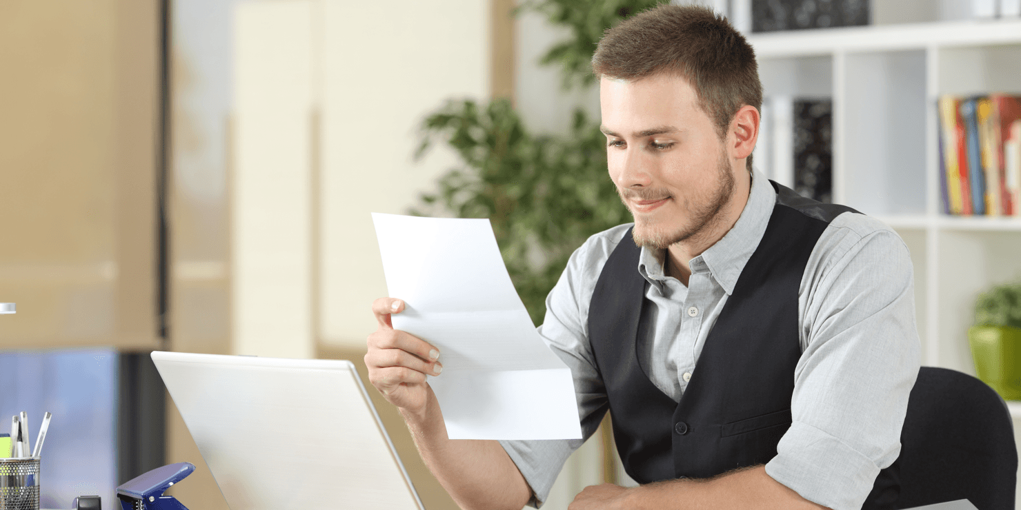 Mortgage SOS Understanding A Credit Report Man Featured Image
