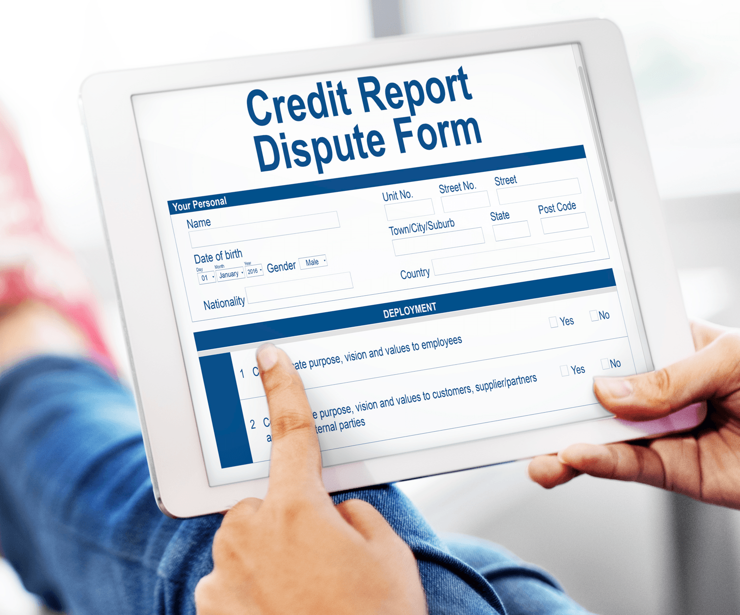 Mortgage SOS Understanding A Credit Report Image