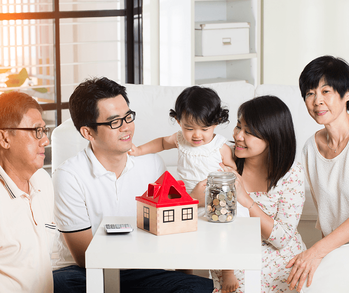 Things to Think About When Buying a Home With Extended Family Image