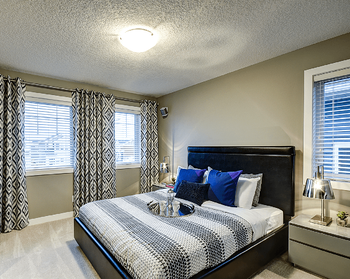 New Show Homes Opening Evanston Bedroom Image
