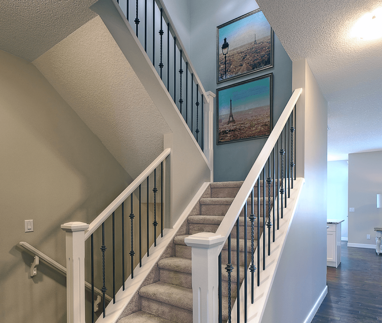 8 Stunning Stairwell Design Ideas Blue Image
