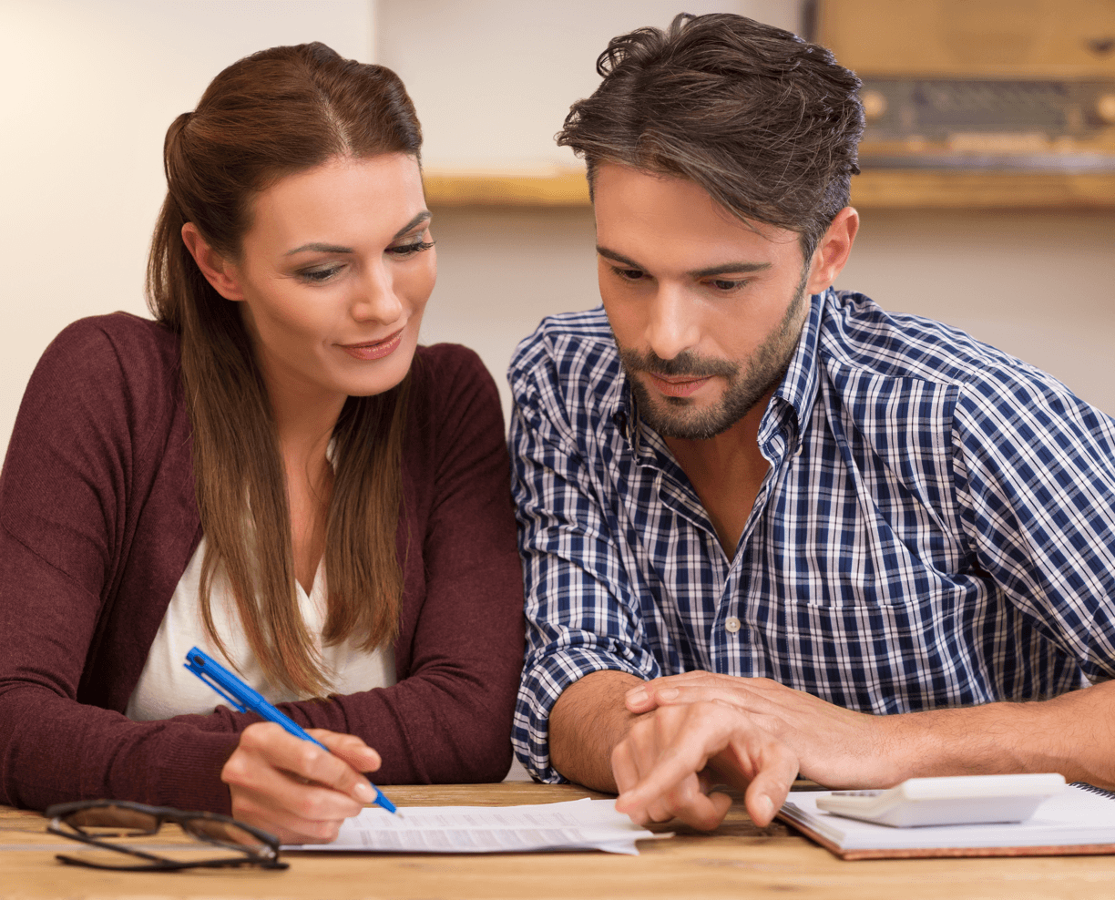 Planning to Buy Your First Home: What's Affordable Couple Image