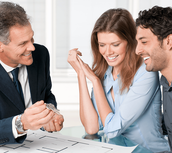 Do I Need a Realtor to Buy a New Home? Happy Couple Image