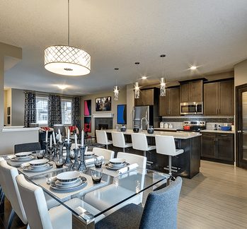 The Advantages of an Open Concept Floor Plan Dining Image