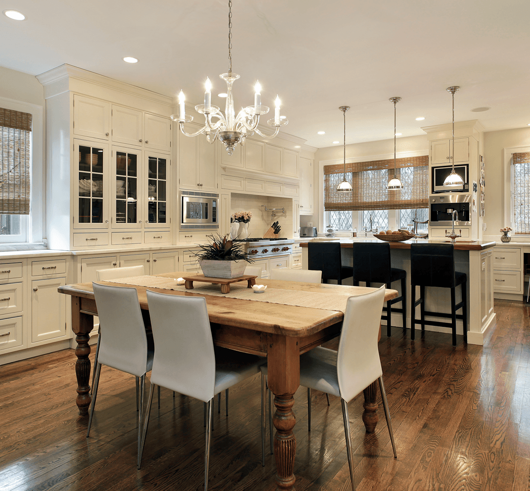 Classic Home Design Ideas That Never Go Out of Style: Dining Rooms Luxury Kitchen Image