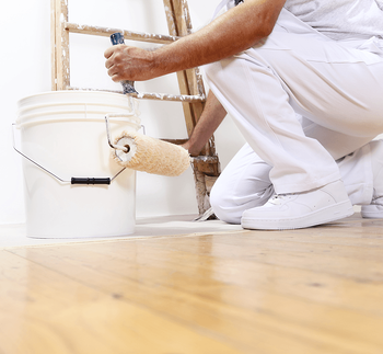 Should I Hire a Professional House Painter? Roller Image