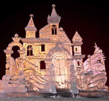 Winter Activities to Do With the Kids Ice Castle Image