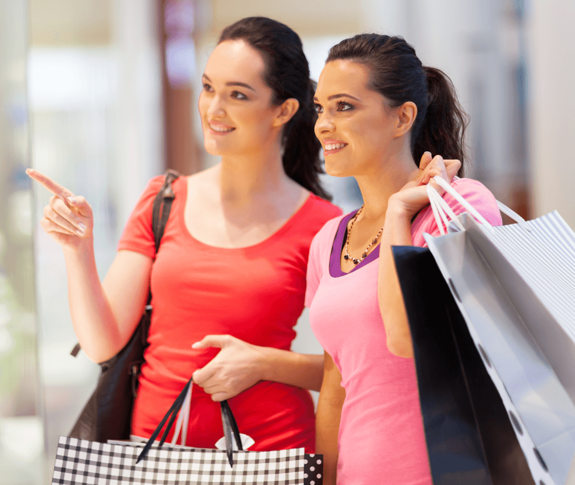 13 Boxing Day Shopping Survival Tips Women Shopping Image