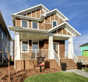 Model Feature: The Banbury II Exterior Image