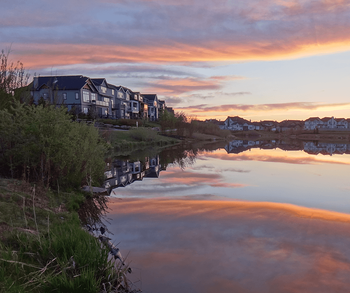 Your Calgary Commute: Drive and Transit Times from New Neighbourhoods Cooper's Crossing Image