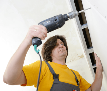 How Long Does it Take to Build a New Home? Drywall Image