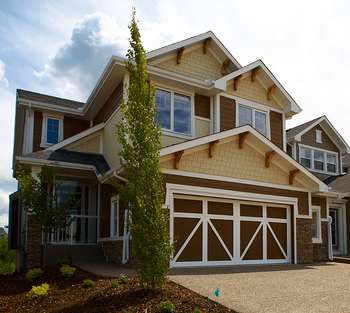 10 Advantages of Working With a Calgary Home Builder Front Attached Home Image