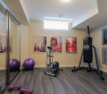 Finishing the Basement: 8 Reasons You Should Do It Gym Image