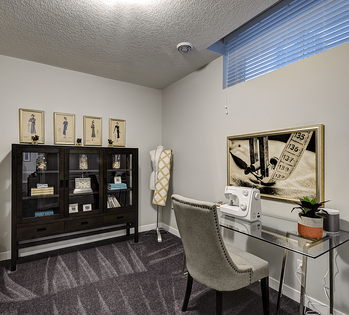 Finishing the Basement: 8 Reasons You Should Do It Office Image