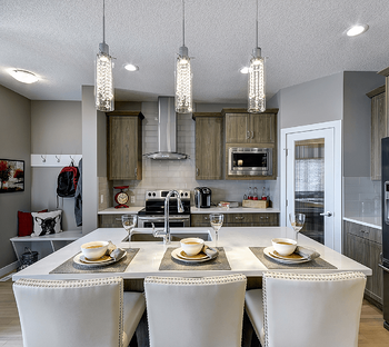 How to Compare Calgary Home Builders to Find the Best One For You Kitchen Image