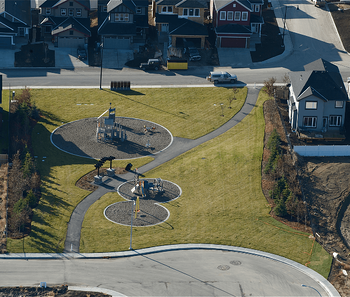 Choosing Your Lot: Everything You Wanted to Know Arial View Image