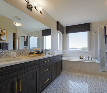 Model Feature: The Brentwood Ensuite Image