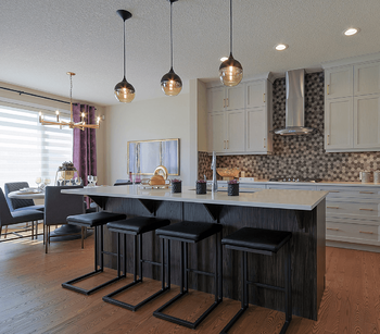 Model Feature: The Brentwood Kitchen Image