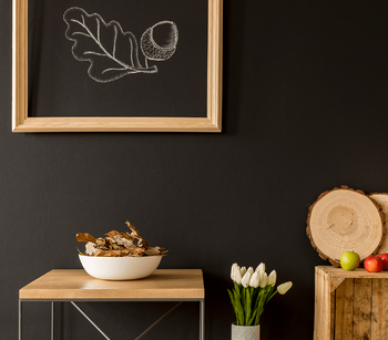 Our Guide to Beautiful Canadian Home Decor Chalk Board Image