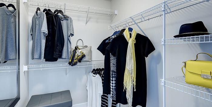 Model Feature: The Westbury Walk in Closet Image