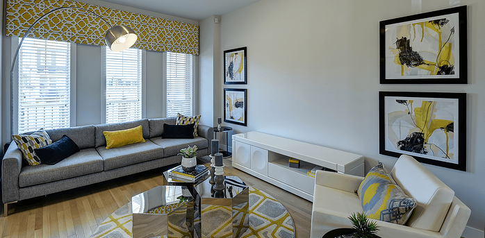 Model Feature: The Westbury Great Room Image