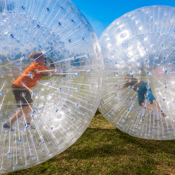 6 Outdoor Activities to Try in Calgary Before Summer's Over Children Zorbing Image