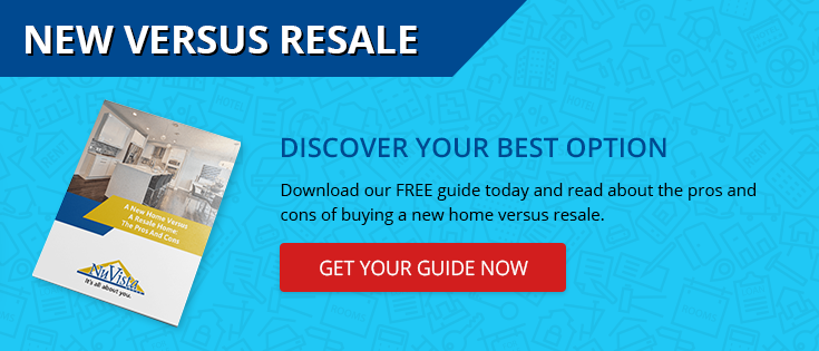 click here to discover the pros and cons of new versus resale homes!