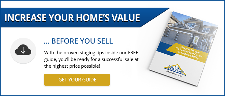 Click here to get your free guide on the 6 Ways to Increase the Value of Your Current Home Before Selling today!
