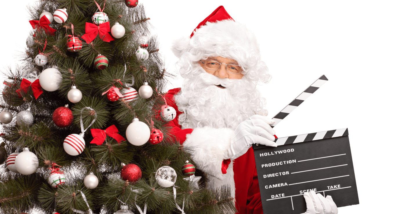 Family-Friendly Holiday Movies You Have to Watch Again Santa Featured Image