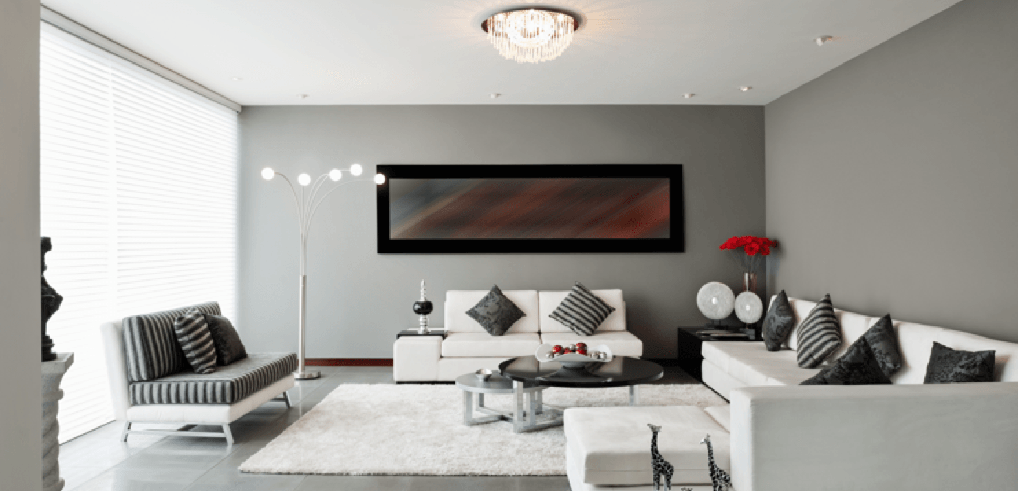 Get Look For Less Contemporary  Interior Design Living Room Feature Image